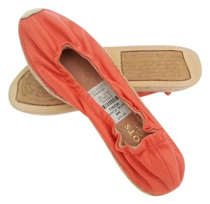 Talbots Tirch Burgundy Comfortable orange Flats