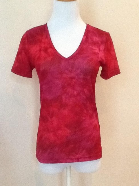 Karen Kane Top Multi dark pink