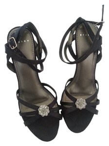 Sisley Evening Straps Heels Stiletto dark navy Formal