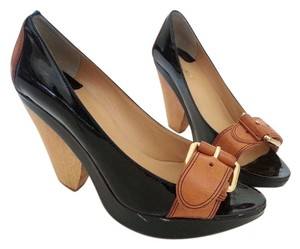 Max Studio Pump Bloomingdales black, wood Pumps