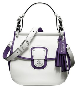 Coach Legacy Archival Two Tone Shoulder Bag