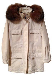 Burberry Fur Trench Coat
