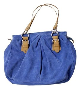 Nine West Suede Satchel in Blue
