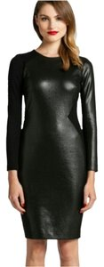 Cynthia Steffe Faux Leather Dress