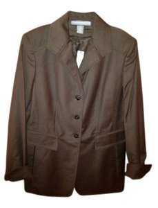 Ellen Tracy Blazer/jacket Chocolate Jacket