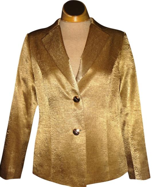 Preload https://item5.tradesy.com/images/gold-blazer-size-8-m-894829-0-0.jpg?width=400&height=650