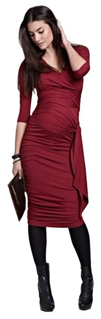 Item - Berry The Ruched Wrap Maternity Dress Size 4 (S, 27)