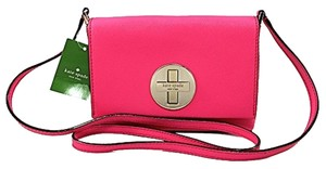 Kate Spade Coral Leather Cross Body Bag