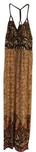 Brown Maxi Dress by Wrapper