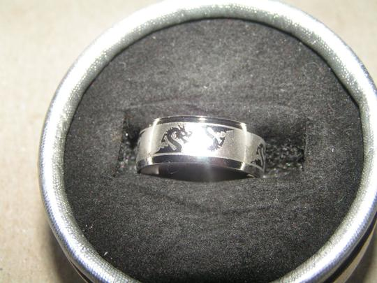 Other BOGO Dragon Serpent Etched Stainless Band Ring Free Shipping