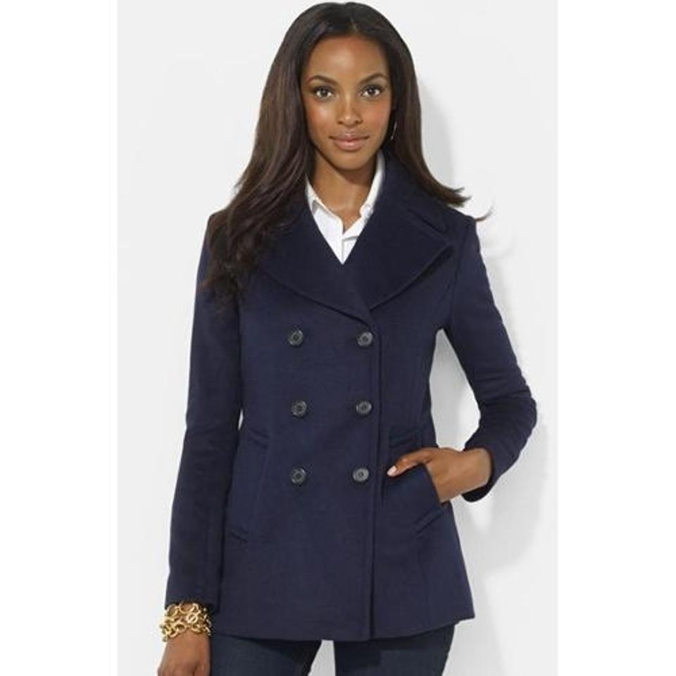 ralph lauren collection pea pea coat 82 off retail. Black Bedroom Furniture Sets. Home Design Ideas