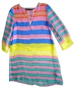 Zara short dress Multi colored on Tradesy