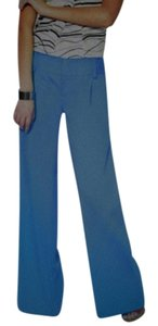 Alice + Olivia Wide Leg Wide Leg Pants blue