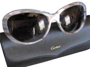 Cartier Cartier Brown/Grey Frame Sunglasses