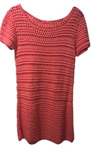 Topshop short dress Coral Knit on Tradesy