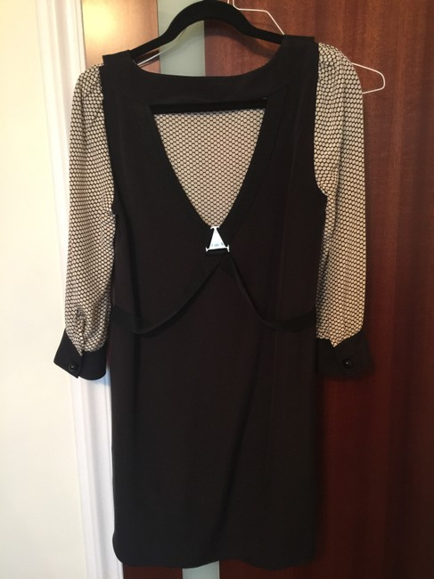Marc by Marc Jacobs short dress Black with polka dot white on Tradesy