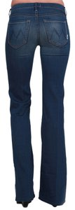 Mother Denim Low-rise Rayon Cotton Trouser/Wide Leg Jeans-Medium Wash