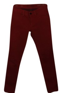 DL1961 deep red Leggings