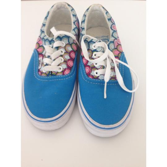 Vans Lace Up Low Top Color Multi Athletic