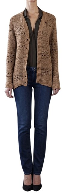 Preload https://img-static.tradesy.com/item/8951104/twelfth-st-by-cynthia-vincent-camel-tape-yarn-knit-cardigan-size-4-s-0-2-650-650.jpg