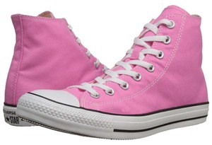 Converse High Top High Top Sneaker Sneaker Snekaers Sneakers Sneakers High Top High Top High Tops Lace Up Lace Lace Up Pink Athletic