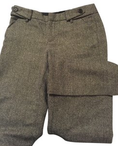 A|X Armani Exchange Wide Leg Pants Grey brown