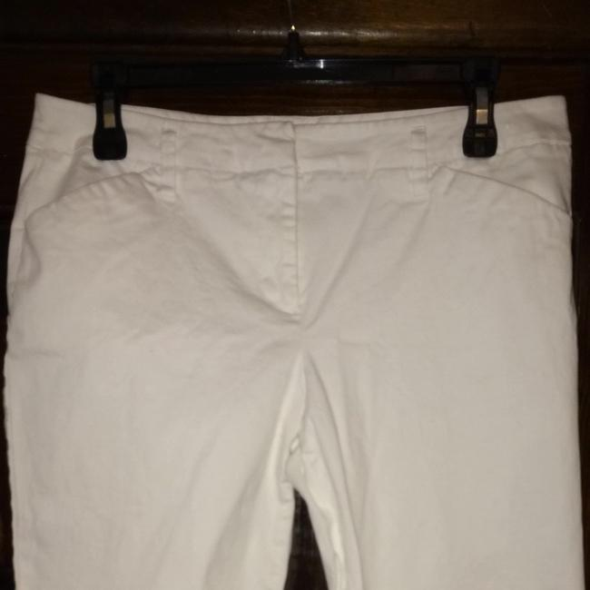 New York & Company Capris White