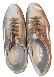 Tod's Designer Fashion Silver/gold Athletic