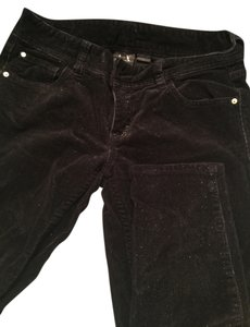A|X Armani Exchange Straight Pants Velvet black shiny