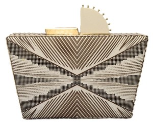 Tanya Hawkes Metallic gold Clutch