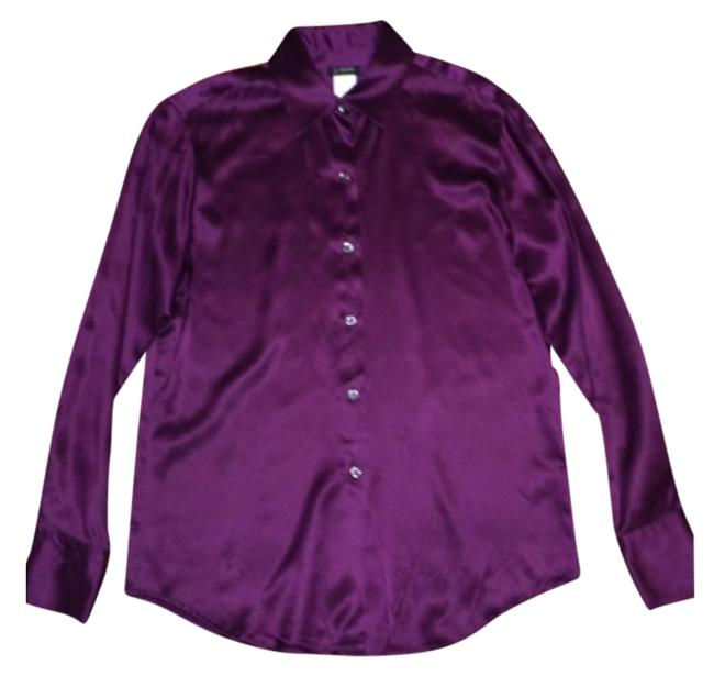 Preload https://img-static.tradesy.com/item/8951968/jcrew-plum-silk-blouse-button-down-top-size-4-s-0-1-650-650.jpg