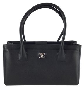 Chanel Shopper Tote in Black