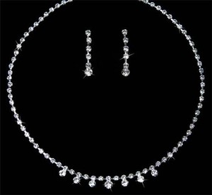 Silver/Silver Jewelry Set