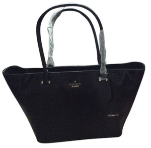 Kate Spade Patent Leather; Guaranteed Your Money Back Tote in Black