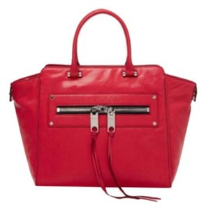 MILLY Satchel in Red