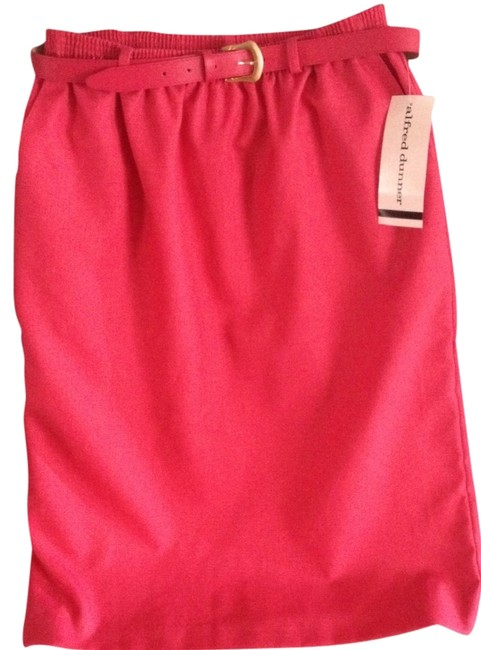 Alfred Dunner Skirt Peony (fuchsia And Coral Mix)