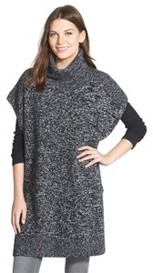 Nordstrom Poncho Cashmere Turtleneck Collection Sweater