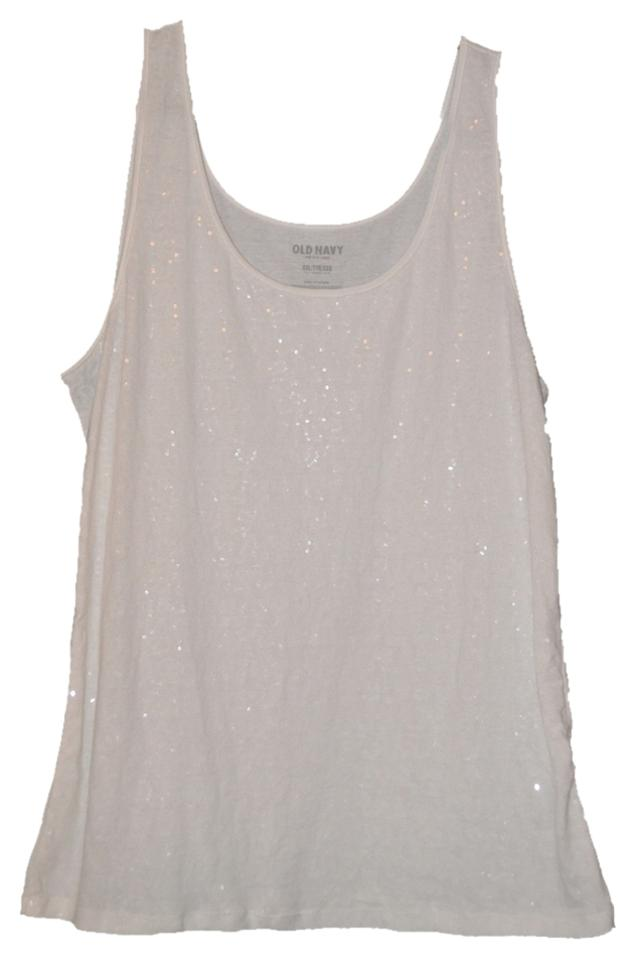 6b7305f82693a Old Navy Ivory Tank Top Cami Size 18 (XL