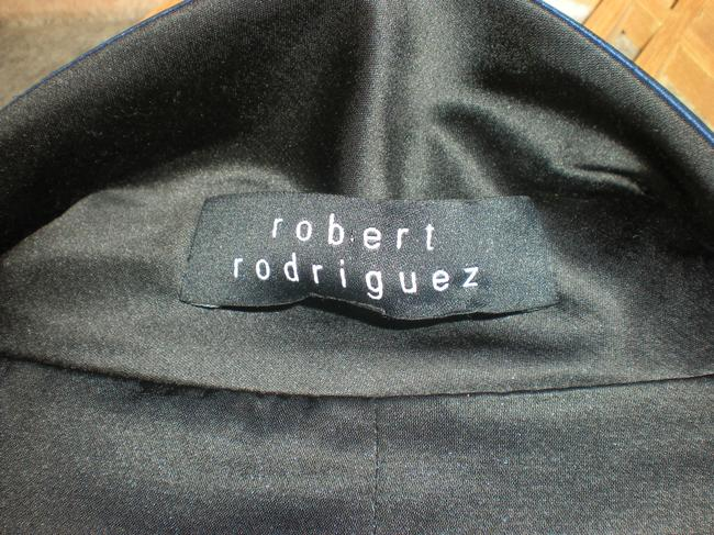 Robert Rodriguez Electric Blue and Black Jacket