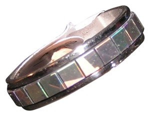 Other Mirrored Multi Colored Stainless Steel Eternity Ring Free Shipping