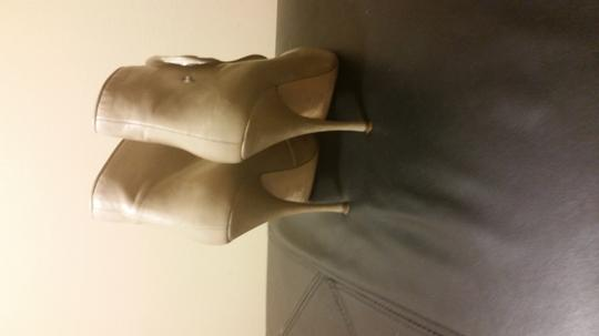 Brian Atwood NUDE Boots
