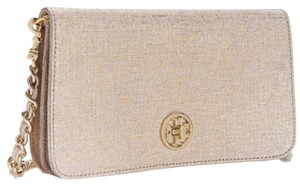 Tory Burch beige Clutch