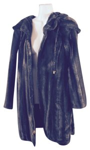 Iman Platinum Fur Coat