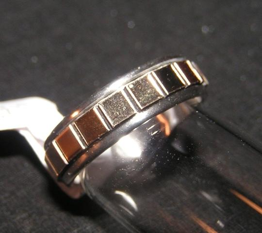 Other BOGO Free Gold Mirrored Tile Stainless Steel Band Ring Free Shipping