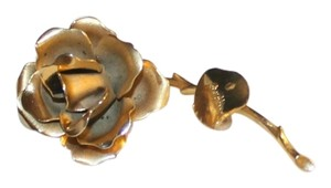 Giovanni Single Rose Brooch