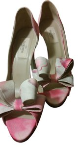 Valentino PINK MULTI Pumps