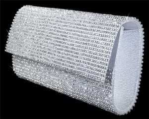 / Rhinestone Crystal Clutch Bridal Handbag