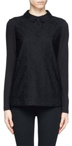 Tory Burch Lace Top Black