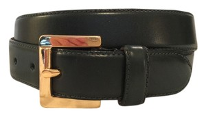 Talbots Smooth Leather Solid Brass Buckle