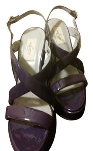 Valentino PURPLE Wedges